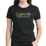 Schumin Web Logo Women's Dark T-Shirt