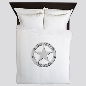 Single Action Shooter Queen Duvet