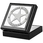 Single Action Shooter Keepsake Box