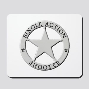 Single Action Shooter Mousepad