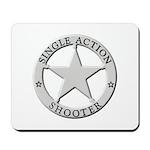 Single Action Shooter Mousepad