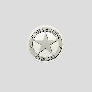 Single Action Shooter Mini Button