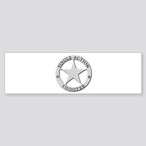 Single Action Shooter Sticker (Bumper)