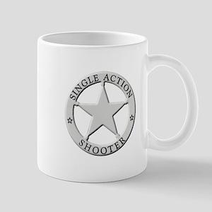 Single Action Shooter Mug