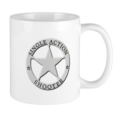 Single Action Shooter Mug