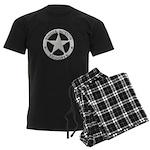 Single Action Shooter Men's Dark Pajamas