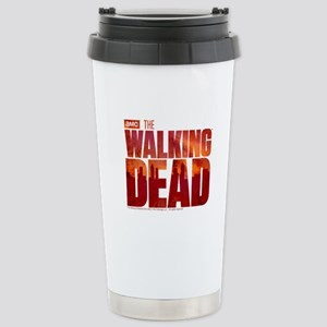 The Walking Dead Blood Logo Stainless Steel Travel