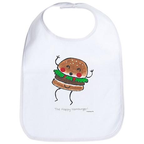 Happy Hamburger Bib