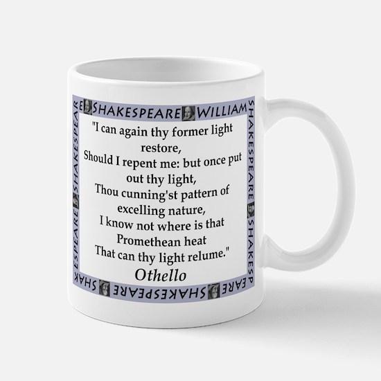 I Can Again Thy Former Light Restore Mugs