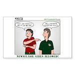 KNOTS Adventure Scouts Sticker (Rectangle 10 pk)