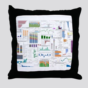 TED designs for TEDophiles Throw Pillow