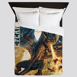 Eternal Edge-Dragon Fire Queen Duvet