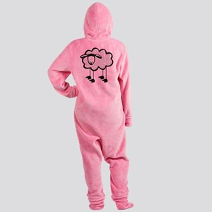 Cute Cartoon Sheep Footed Pajamas
