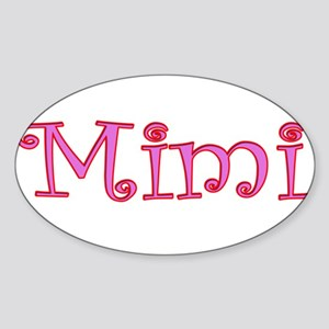 Mimi cutout click to view Rectangle Sticker