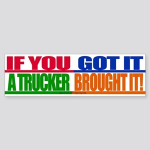 Bright and Bold Bumper Sticker