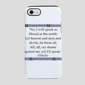 No, I Will Speak iPhone 7 Tough Case