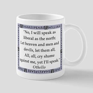 No, I Will Speak Mugs