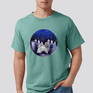 havanese snow globe ligh Mens Comfort Colors Shirt
