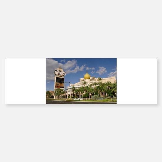 Sahara Hotel Las Vegas Sticker (Bumper)