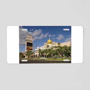 Sahara Hotel Las Vegas Aluminum License Plate
