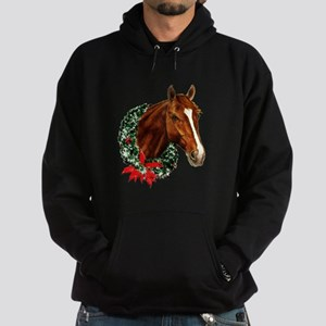 Horse and Wreath Hoodie (dark)