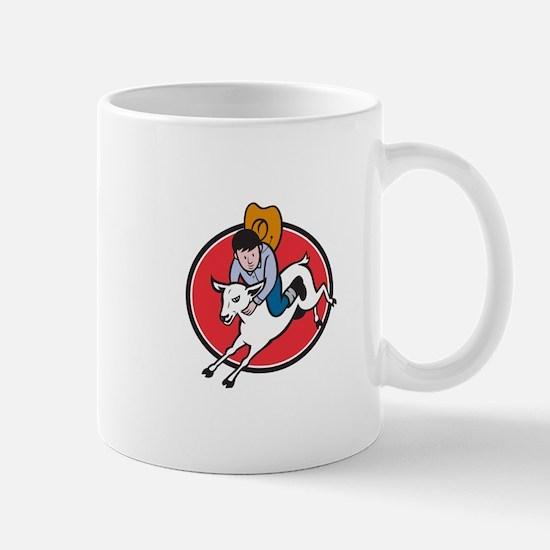 Unique Goat cartoon Mug