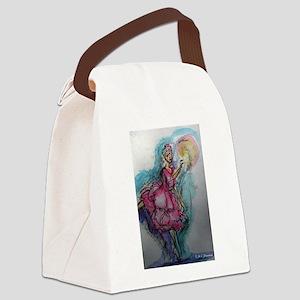Ballet Dancer! Art! Canvas Lunch Bag