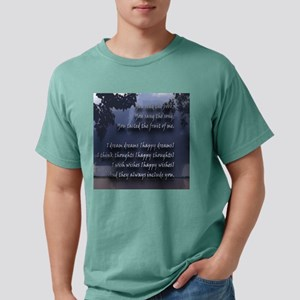Faces Against the Wind P Mens Comfort Colors Shirt