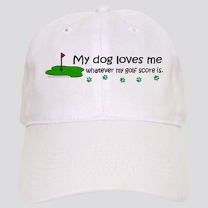 dog golf Cap