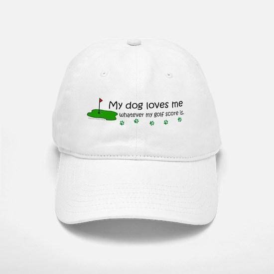 dog golf Baseball Baseball Cap