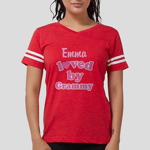 Personalized Grandchild gift Womens Football Shirt