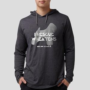 3-IRescuewheatens_black Mens Hooded Shirt