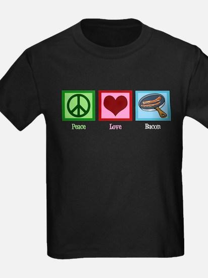 Peace Love Bacon T