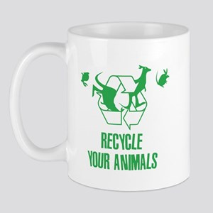 Recycle Your Animals Fight Club Mug
