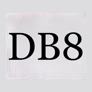 DB8 Throw Blanket