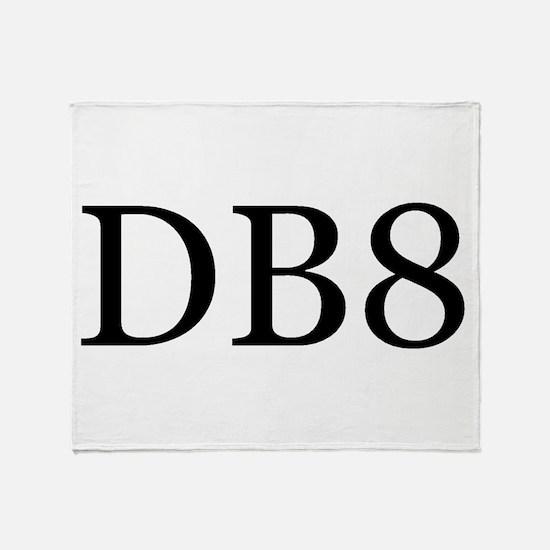 DB8 Throw Blanket