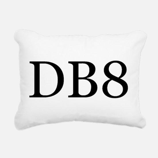 DB8 Rectangular Canvas Pillow