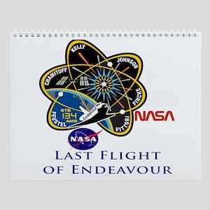 Endeavour Last Wall Calendar