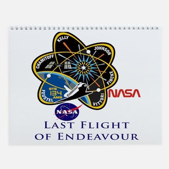 Endeavour Last.png Wall Calendar