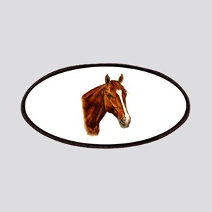 Chestnut Horse Patches