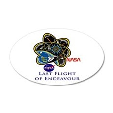 Last Flight of Endeavour Wall Decal