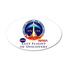 Last Flight of Discovery Wall Decal