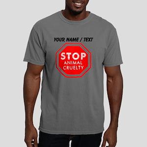 Custom Stop Animal Cruel Mens Comfort Colors Shirt