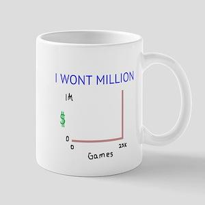I WONT MILLION Mug