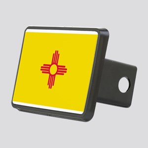 New Mexico flag Rectangular Hitch Cover