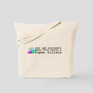 Lab Accident Super Villain Tote Bag