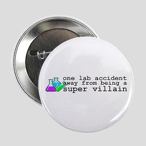 """Lab Accident Super Villain 2.25"""" Button"""