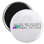 Lab Accident Super Villain Magnet