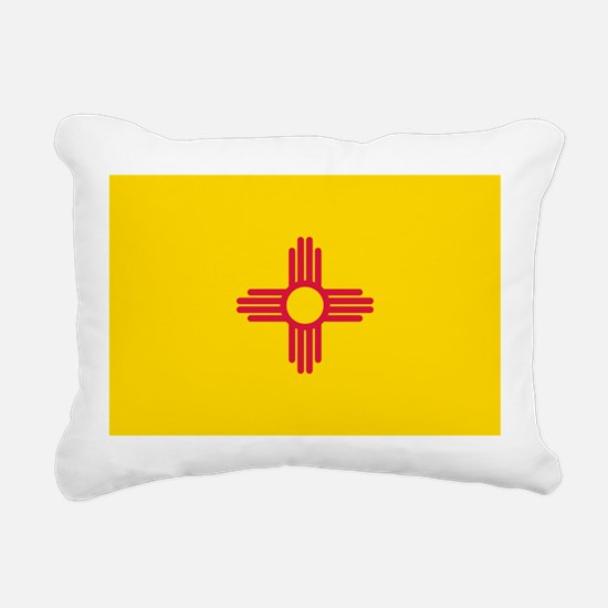 New Mexico flag Rectangular Canvas Pillow