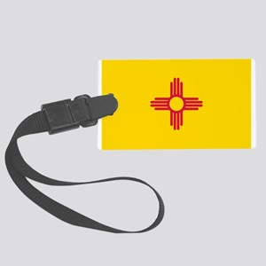 New Mexico flag Large Luggage Tag